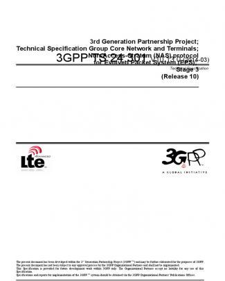 3gpp Ts 24.301 V10.13.0 (2014-03)