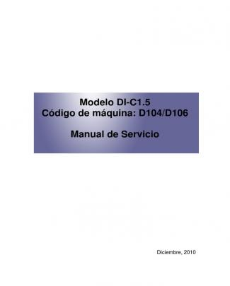 Manual Tecnico De Taller Mpc2051