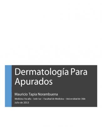 Dermatología Para Apurados Mau