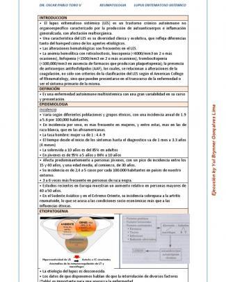 2. Lupus Eritematoso Sistemico