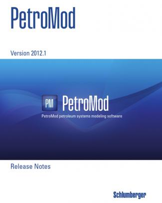 Petromod 2012 1 Releasenotes