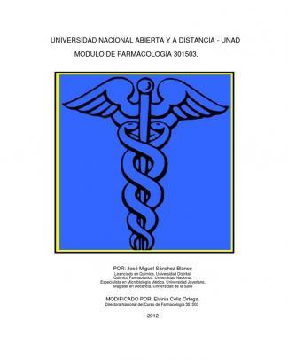 Modulo Farmacologia