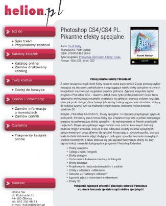 Photoshop Cs4/cs4 Pl. Pikantne Efekty Specjalne