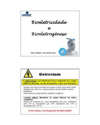 Aula Biofisica 06 - Bioeletricidade