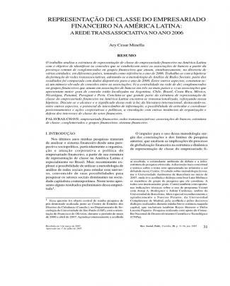 Ary Minella - Bancos Em Redes