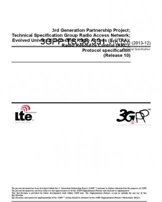 3gpp Ts 36.331 V10.12.0 (2013-12)