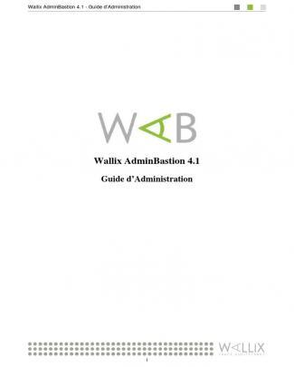 Wab Admin Guide Fr