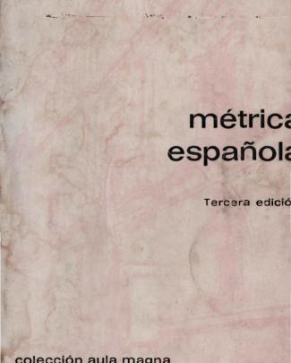 Quilis Antonio Metrica Espanola