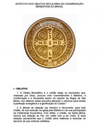 Estatuto Dos Oblatos Seculares Da Congregação Beneditina Do Brasil A5