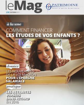 O'patrimoine - Mag 40 - Octobre 2015