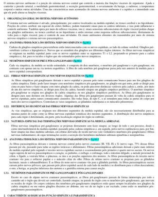Capítulo 60 – O Sistema Nervoso Autônomo E A Medula Adrenal - 6 Páginas