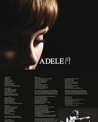 Digital Booklet L Adele - 19