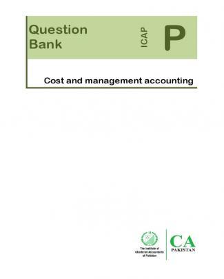 Caf8 Cma Questionbank