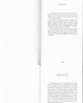 Furio Jesi - Sopravvivenze Mitiche Nell'esoterismo Nazista
