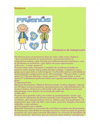 Dinamicas Para Criancas
