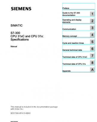 S7300 Cpu 31xc And Cpu 31x Manual En-us En-us