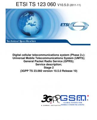 3gpp Technical Specification 23.060