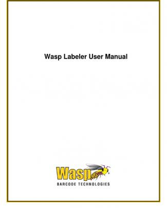 Wasp Labeler Manual