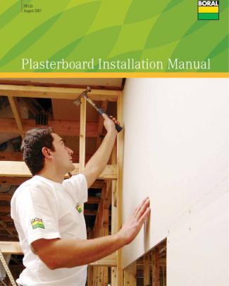 Plasterboard Installation Manual - Montaj Rigips