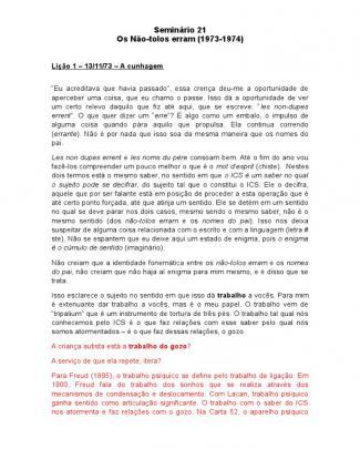 Seminário 21 Os Não Tolos Erram.doc