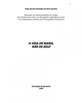 Teatro A Vida De Maria - A Mãe De Jesus