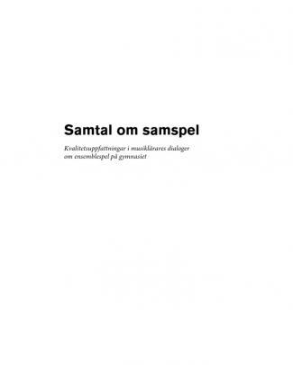 Olle Zanden Ensemblespel