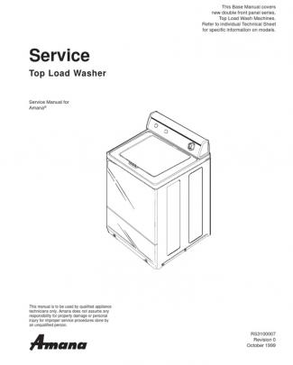 Amana Searcy Tl Washer