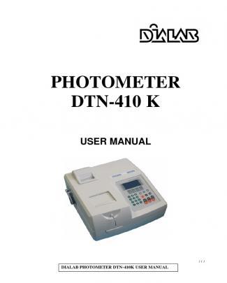 Dtn410k User Manual Rev01