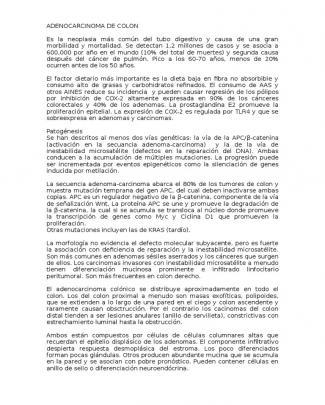 Adenocarcinoma De Colon