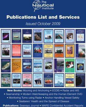 Nautical Institute Publication List