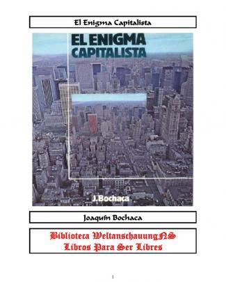 Bochaca Joaquin El Enigma Capitalista