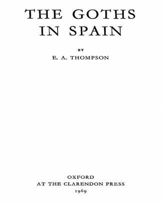 [e.a. Thompson] The Goths In Spain(bookza.org)
