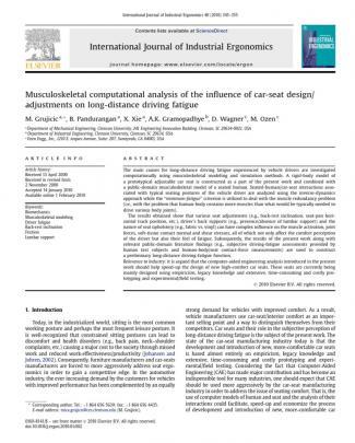 International Journal Of Industrial Ergonomics-grujicic2010