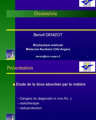 Dosimetrie (1)