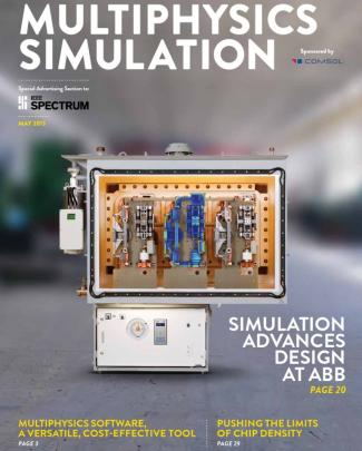 Comsol Electric Simulation