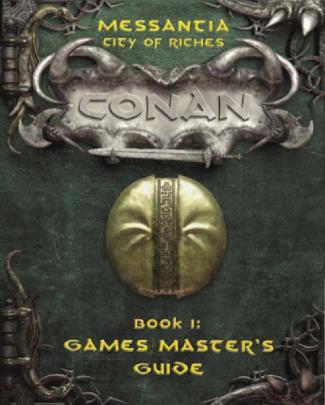 Mgp7709 - Conan D20 - Messantia - City Of Riches Boxed Set
