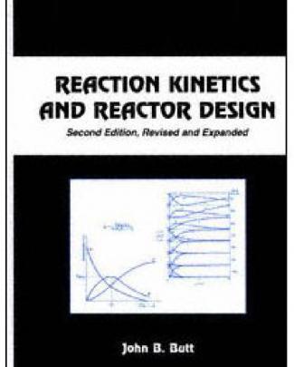 Reaction Kinetics And Reactor Design (john B. Butt)