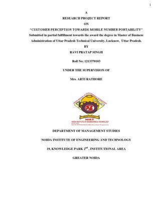 Ravi Mnp Full Dissertation Project