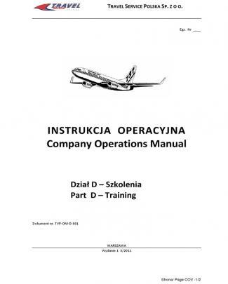 Tvp Operations Manual D Rev 0