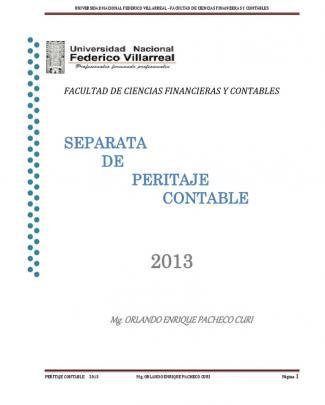 210089951 Separata De Peritaje Contable Abr2013 Docx