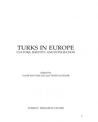 Turks In Europe (academic Papers)