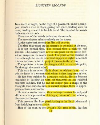 Artaud, Various Writings On Cinema From  Collected Works Volume Iii