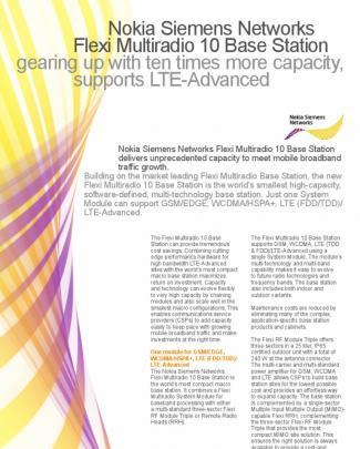 Nsn-flexi Multi Radio 10 Datasheet Online 01062011[1]