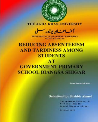 Action Research On Students' Absenteeism And Tardiness