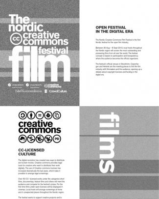 The Nordic Creative Commons Film Festival