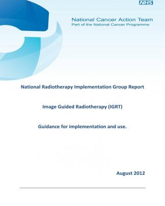 National Radiotherapy Implementation Group Report Igrt Final