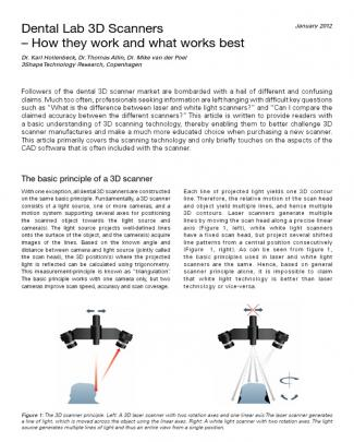 Dental Lab 3d Scanners - How They Work And What Works Best