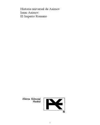 Asimov Isaac - El Imperio Romano