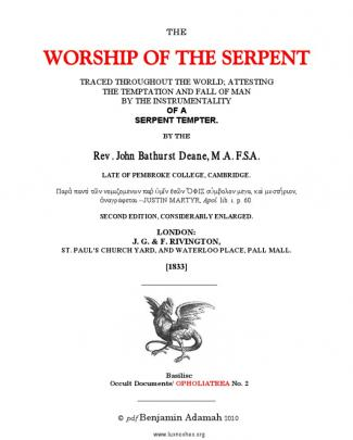1933 - The Worship Of The Serpent
