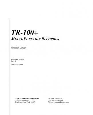Api - Tr100+ Manaul1